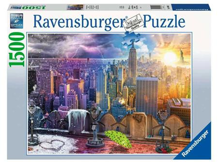 Ravensburger 1500 Piece Jigsaw Puzzle: Seasons Of New York