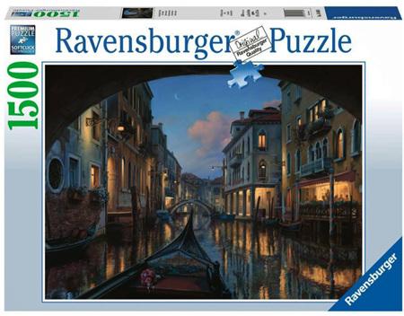 Ravensburger 1500 Piece Jigsaw Puzzle: Venetian Dreams
