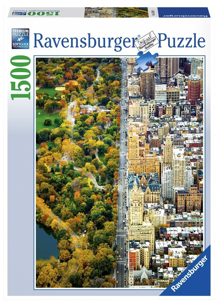 Ravensburger 1500 piece puzzle  Divided Town Buy at www.puzzlesnz.co.nz