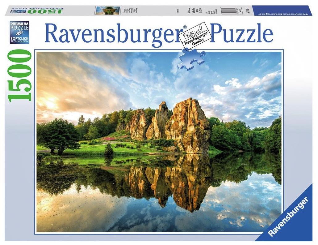 ravensburger 1500 piece jigsaw puzzle teutoburg forest. Black Bedroom Furniture Sets. Home Design Ideas
