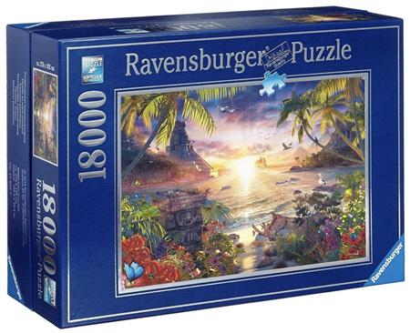 Ravensburger 18000 Piece Jigsaw Puzzle:  Heavenly Sunset