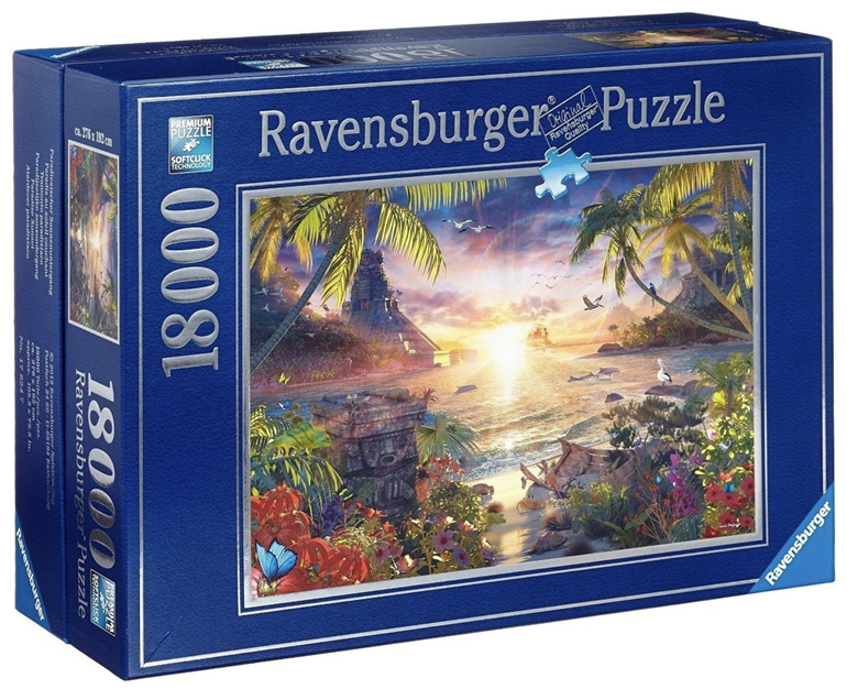 Ravensburger 18000 piece puzzle Heavenly Sunset  buy at www.puzlesnz.co.nz