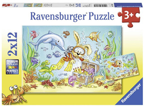 Ravensburger 2 x 12 Piece Jigsaw Puzzle: Diving Adventure