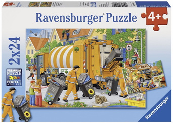 Ravensburger 2 x 24 Piece  Jigsaw Puzzle: Trash Removal