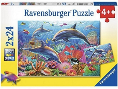 Ravensburger 2 x 24 Piece Jigsaw Puzzles: Underwater World