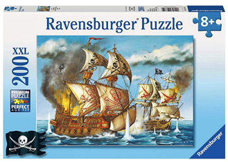 Ravensburger 200XXL Piece  Jigsaw Puzzle: Pirate Battle