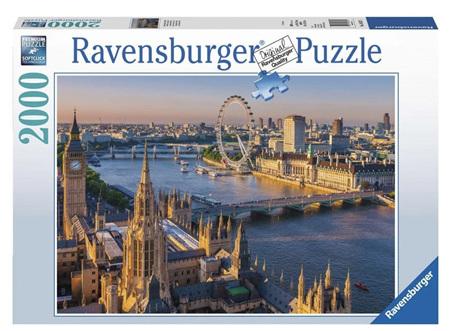 Ravensburger 2000 Piece Jigsaw Puzzle:  Atmospheric London