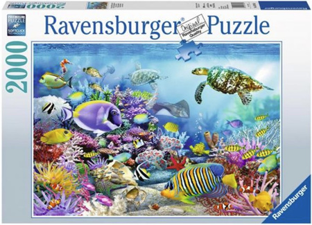 Ravensburger 2000 Piece  Jigsaw Puzzle: Coral Reef Majesty