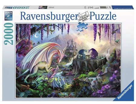 Ravensburger 2000 Piece Jigsaw Puzzle: Dragon Valley