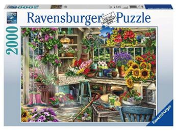 Ravensburger 2000 Piece Jigsaw Puzzle: Gardeners Paradise