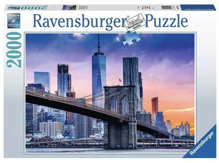 Ravensburger 2000 Piece Jigsaw Puzzle:  New York Skyline