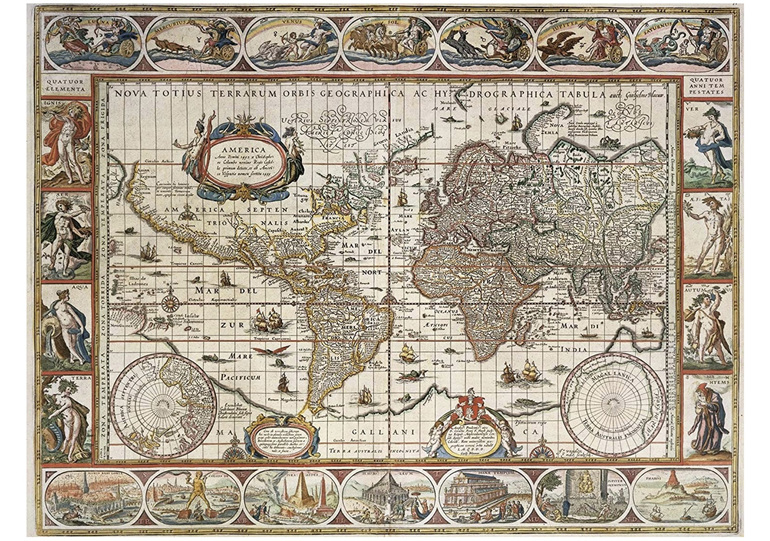 Ravensburger 2000 Piece Puzzle World Map 1650 buy at www.puzzlesnz.co.nz