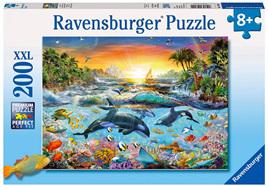 Ravensburger 200XXL Piece  Jigsaw Puzzle: Orca Paradise