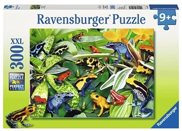 Ravensburger 300 Piece Jigsaw Puzzle: Friendly Frogs