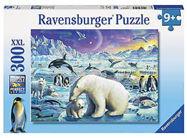 Ravensburger 300 Piece  Jigsaw Puzzle: Meet The Polar Animals