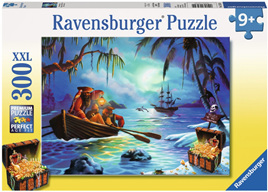Ravensburger 300 Piece  Jigsaw Puzzle: Moonlit Mission