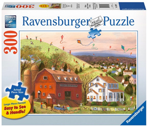 Ravensburger  300XL Piece Large Format  Jigsaw Puzzle: Lets Fly