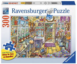 Ravensburger 300 Piece  Large Forrmat Jigsaw Puzzle: Cosy Potting Shed