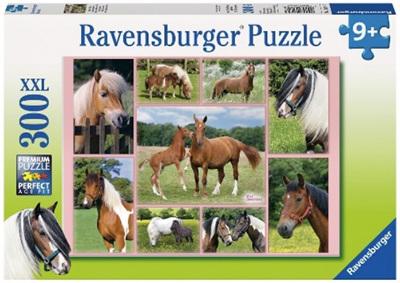 Ravensburger 300 Piece Jigsaw Puzzle: Horse Heaven