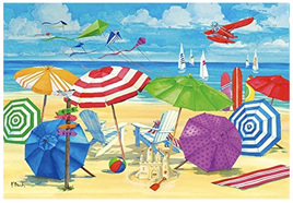 Ravensburger 300XL Piece Large Format  Jigsaw Puzzle: At The Beach
