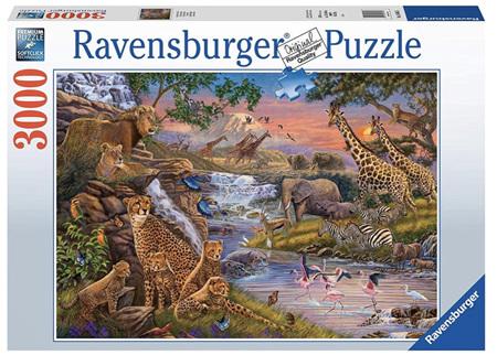Ravensburger 3000 Piece Jigsaw Puzzle: Animal Kingdom