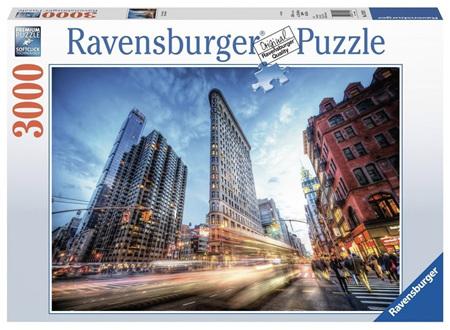 Ravensburger 3000 Piece Jigsaw Puzzle: Flat Iron Building