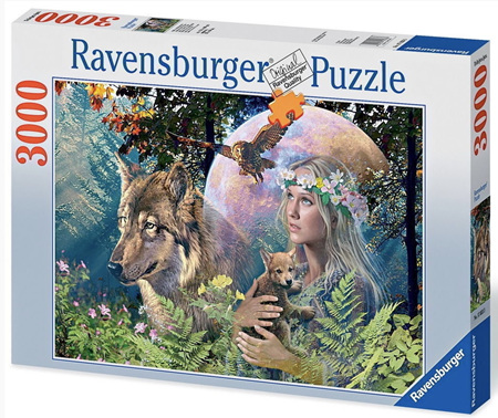 Ravensburger 3000 Piece  Jigsaw Puzzle: Lady Of The Forest