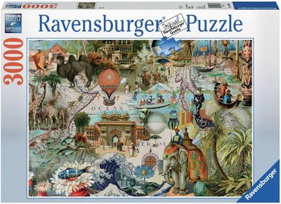 Ravensburger 3000 Piece  Jigsaw Puzzle: Oceania