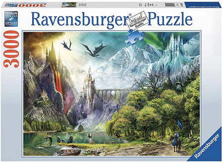 Ravensburger 3000 Piece Jigsaw Puzzle: Reign Of Dragons