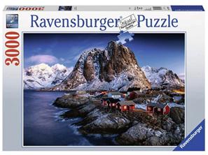 Ravensburger 3000 Piece  Jigsaw Puzzle: Hamnoy Lofoten