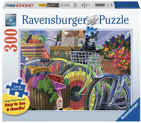 Ravensburger 300XL Piece Jigsaw Puzzle: Bicycle Group