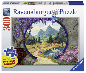 Ravensburger 300XL Piece  Jigsaw Puzzle: Into A New World
