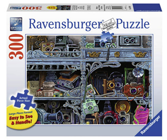 Ravensburger 300XL Piece  Jigsaw Puzzle: Camera Evolution