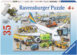 Ravensburger 35 Piece  Jigsaw Puzzle: Busy Airport