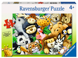 Ravensburger 35XXL Piece  Jigsaw Puzzle: Softies