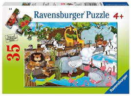 Ravensburger 35XXL Piece  Jigsaw Puzzle: Day At The Zoo