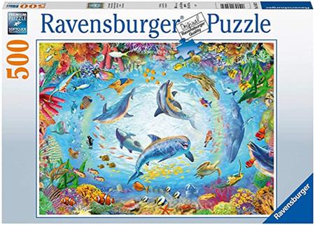 Ravensburger 500 Piece Jigsaw Puzzle: Cave Dive