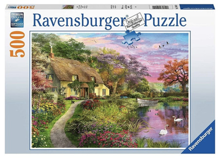 Ravensburger 500 Piece Jigsaw Puzzle: Country House
