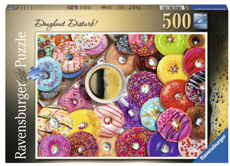 Ravensburger 500 Piece Jigsaw Puzzle: Doughnut Disturb!