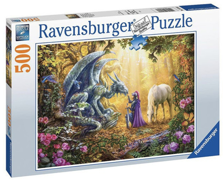 Ravensburger 500 Piece Jigsaw Puzzle: Dragon Whisperer