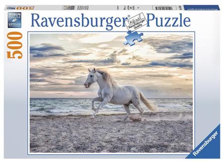 Ravensburger 500 Piece Jigsaw Puzzle: Evening Gallop