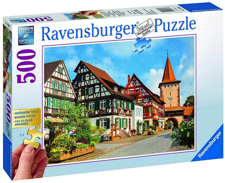 Ravensburger 500 Piece Jigsaw Puzzle: Gengenbach Germany
