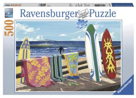 Ravensburger 500 Piece Jigsaw Puzzle: Hang Loose