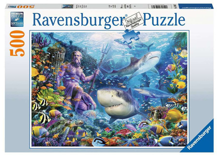 Ravensburger 500 Piece Jigsaw Puzzle: King Of The Sea