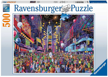 Ravensburger 500 Piece Jigsaw Puzzle: New Year Times Square