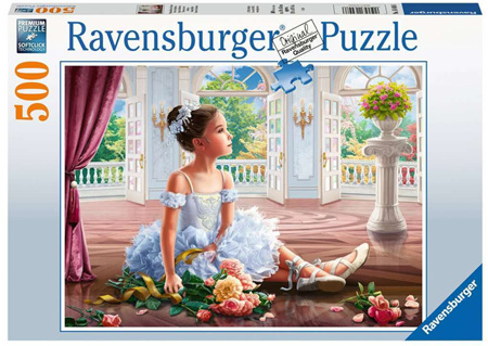 Ravensburger 500 Piece Jigsaw Puzzle: Sunday Ballet