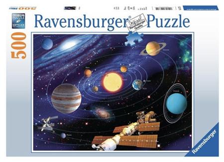 Ravensburger 500 Piece Jigsaw Puzzle: The Solar System
