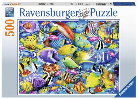Ravensburger 500 Piece  Jigsaw Puzzle: Tropical Traffic