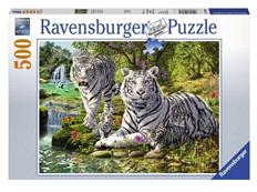 Ravensburger 500 Piece  Jigsaw Puzzle: White Cats