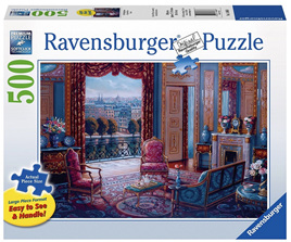 Ravensburger 500 Piece Large Format Jigsaw Puzzle: The Sitting Room